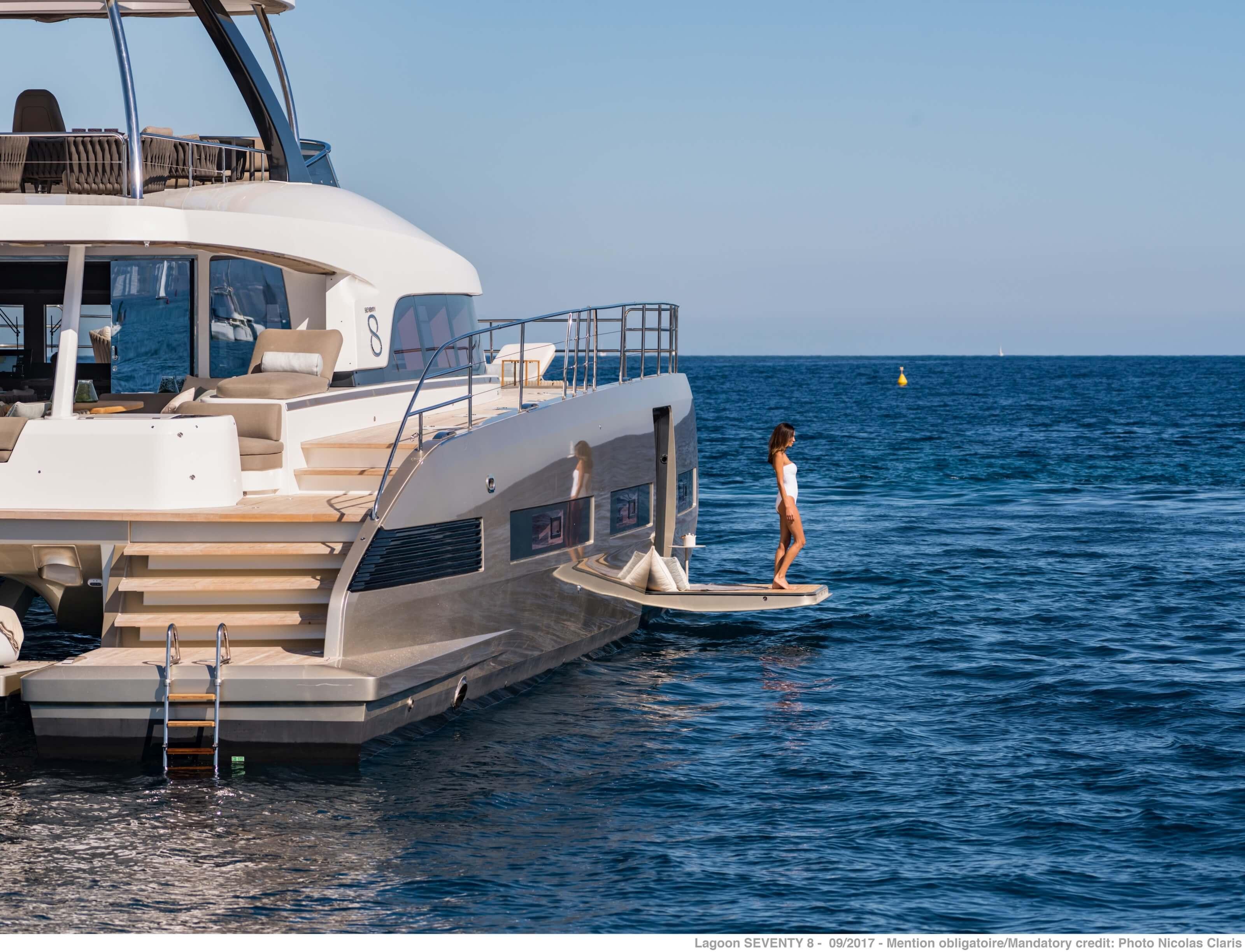 Yacht Investor Lagoon 620 and Lagoon SEVENTY 7